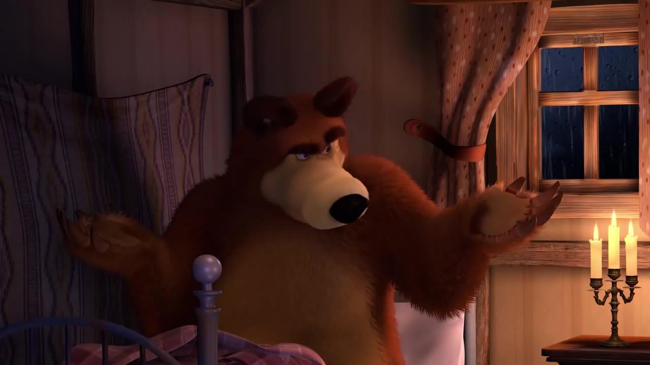 любому картинки на ночь маша и медведь свой образ