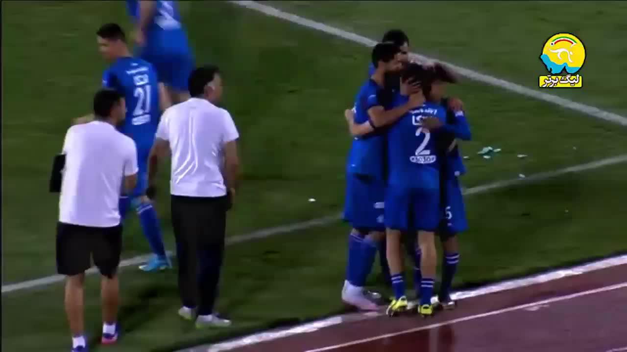 خلاصه بازی استقلال تهران 2-1 سپیدرود رشت