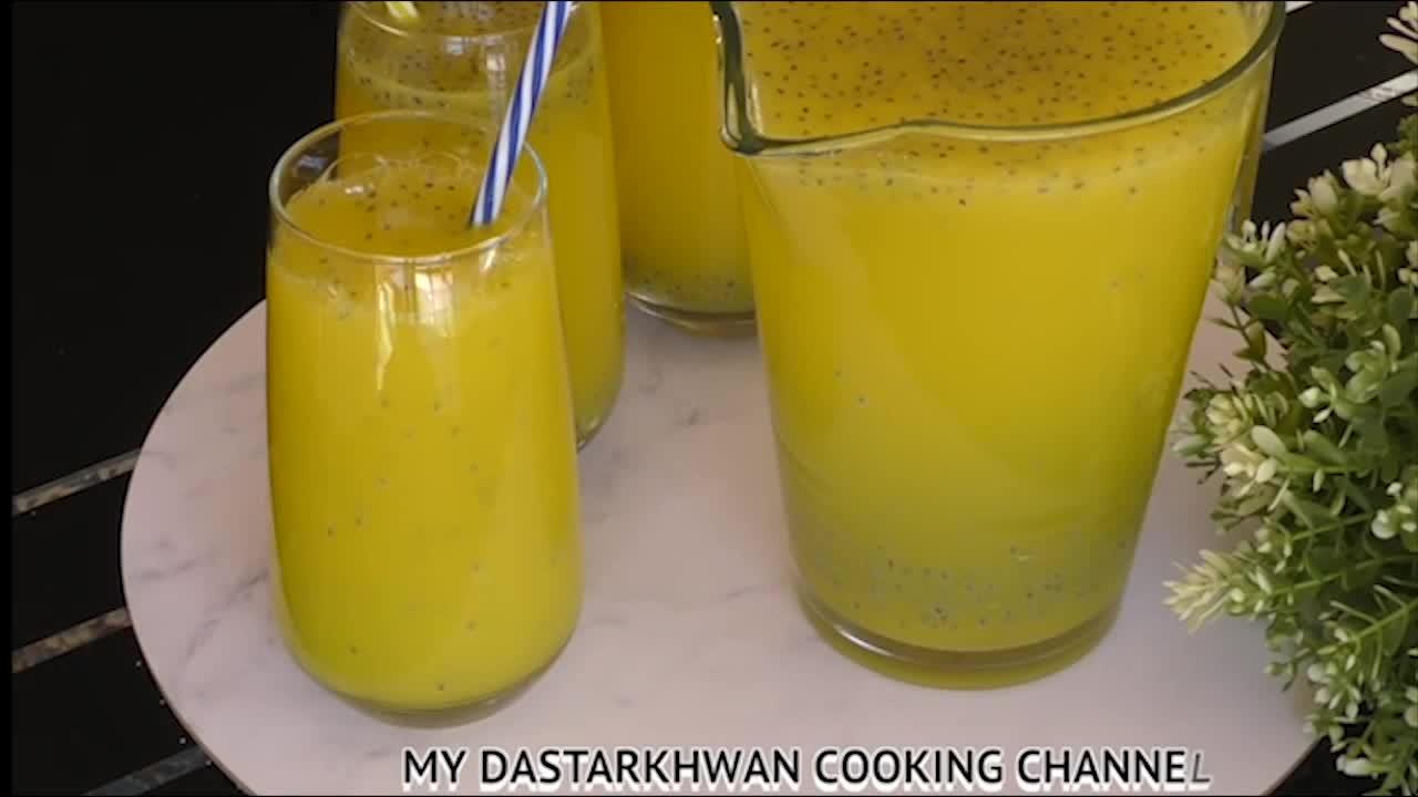 شربت تخم ريحان برای ماه رمضان