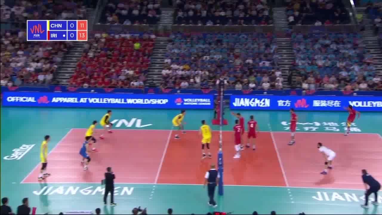 خلاصه والیبال ایران 3-0 چین