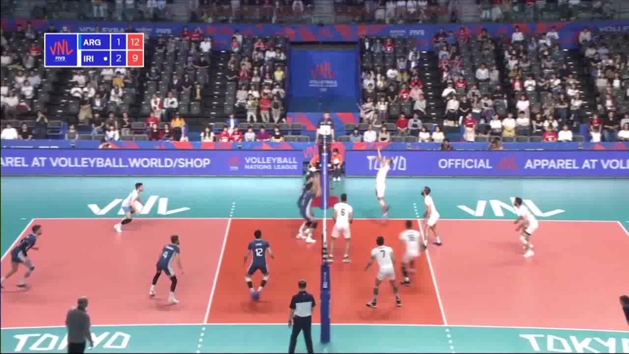 خلاصه والیبال ایران 3-1 آرژانتین؛ والیبال آرژانتین تسلیم ایران شد
