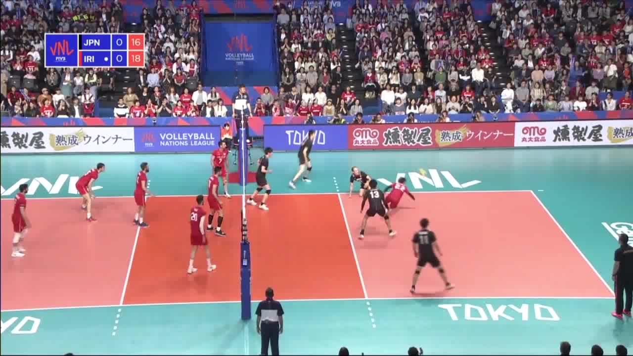 خلاصه والیبال ایران 3-0 ژاپن؛ به زانو درآوردن سامورایی ها در ژاپن