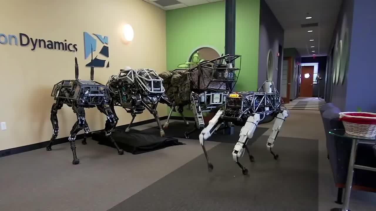 ربات Spot Classic بوستون داینامیکس