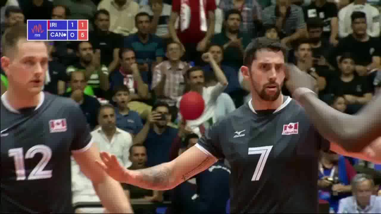 خلاصه والیبال ایران 3-0 کانادا؛ صدرنشینی ایران با عبور از کانادا