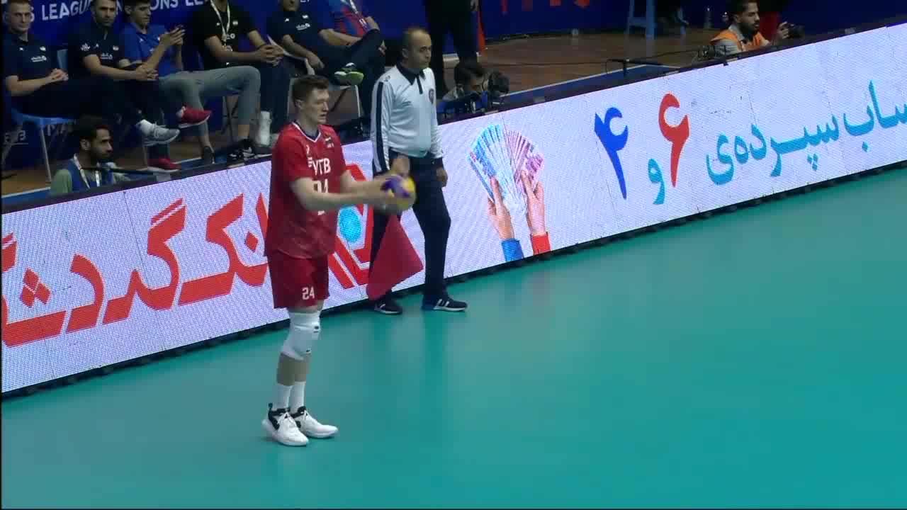 خلاصه والیبال ایران 3-0 روسیه؛ شاگردان کولاکوویچ همچنان در صدر