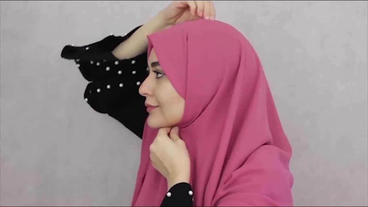 آموزش ایده های جذاب برای بستن شال و روسری
