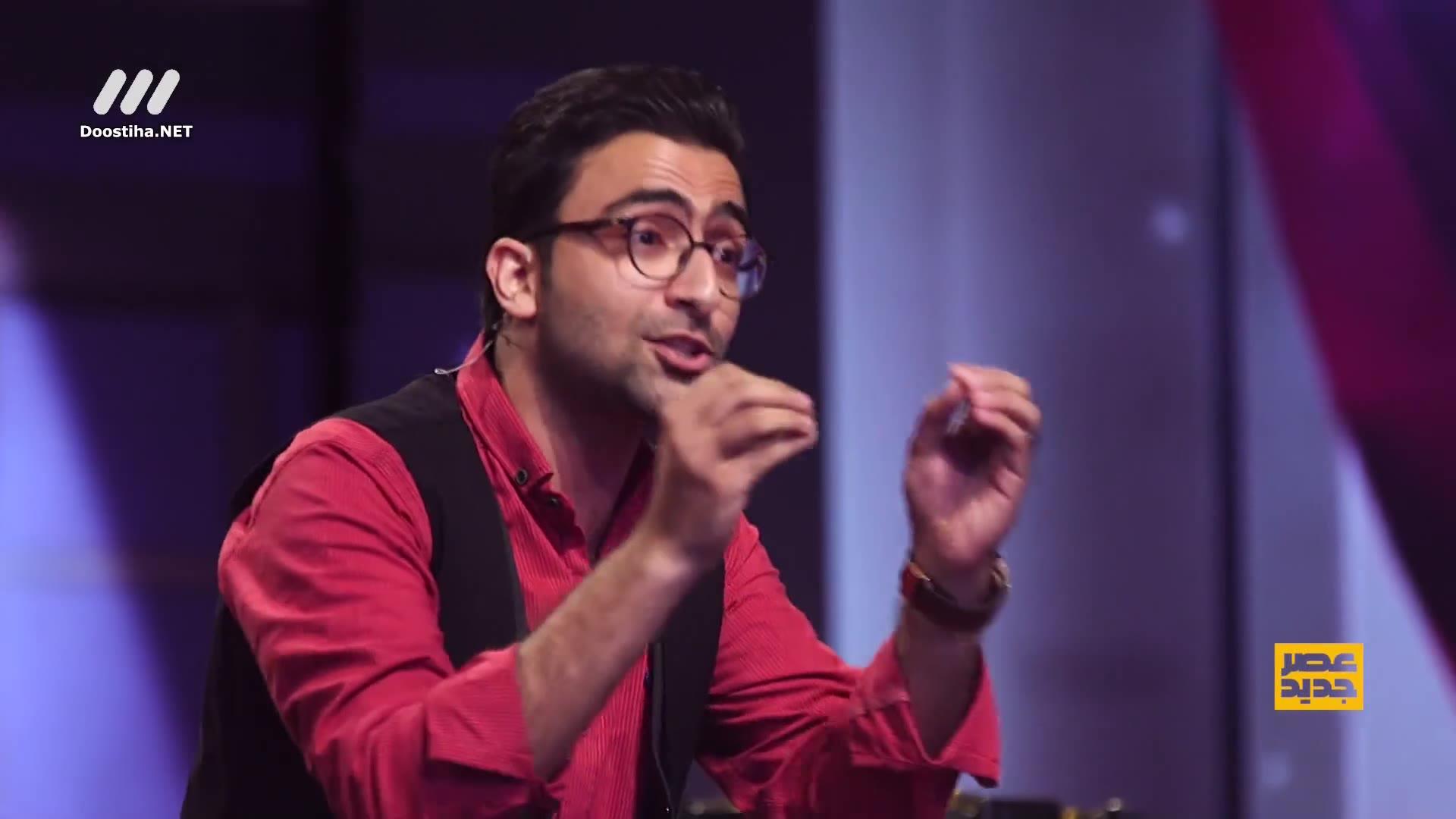 قسمت دهم مرحله دوم عصر جدید؛ استندآپ کمدی سید علی زرگر و شوخی با داوران عصر جدید