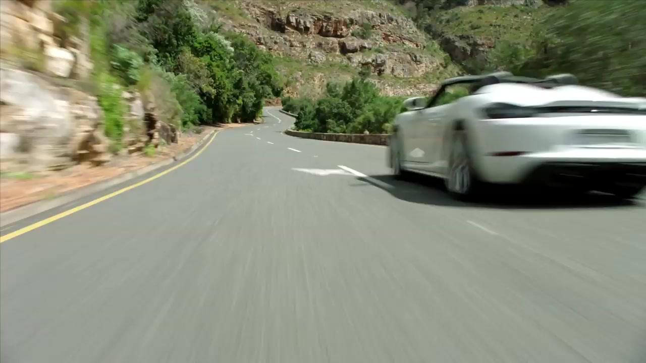 تیزر رسمی پورشه 718 اسپایدر Porsche 718 Spyder 2019
