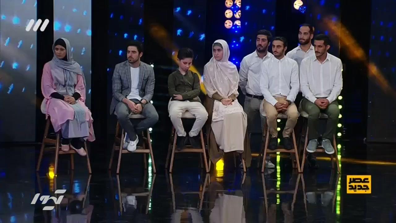 اعلام نتایج هفته پنجم مرحله دوم عصر جدید - پنجشنبه 30 خرداد 98