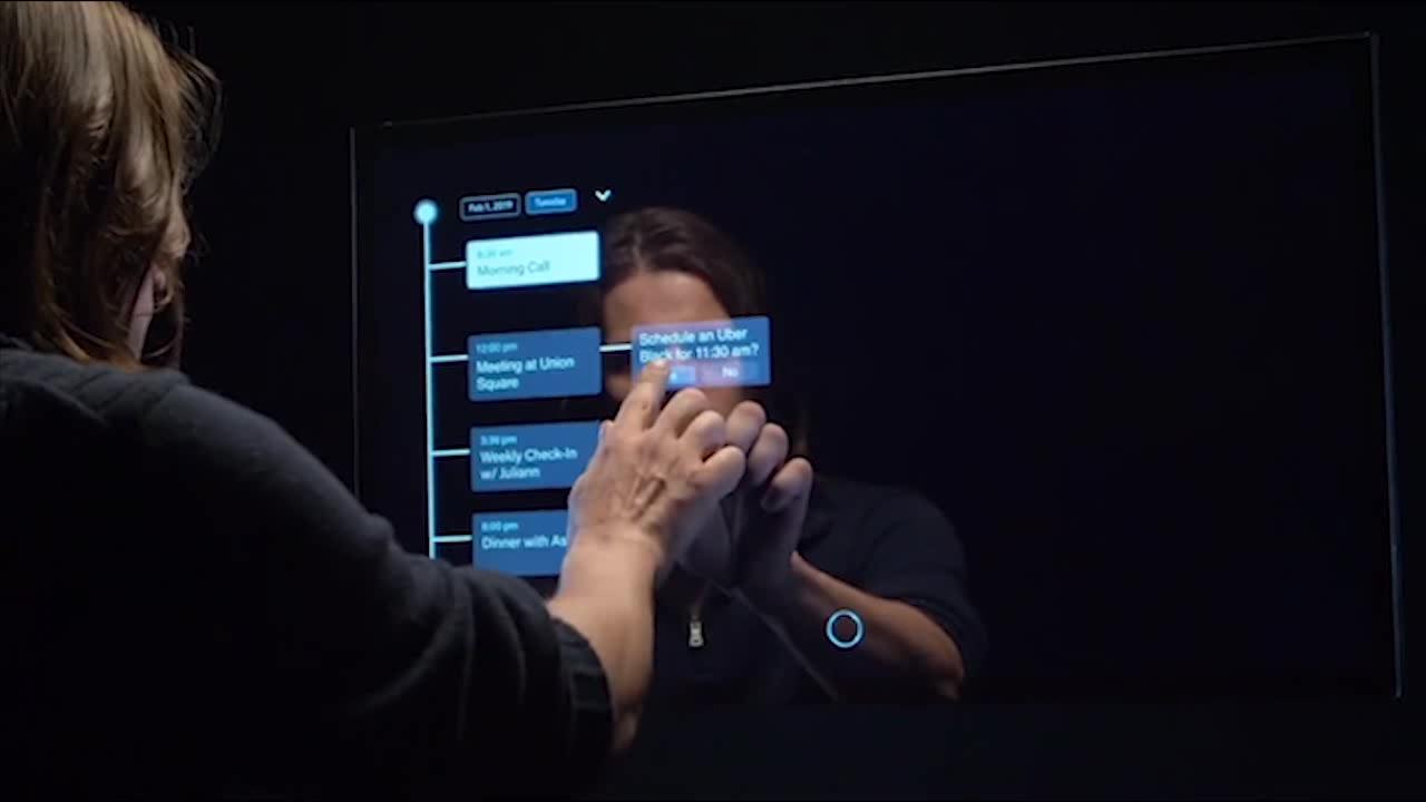 اولین آینه مبتنی بر هوش مصنوعی برای خانه شما!