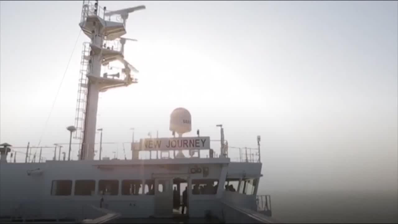 چین از نخستین نفتکش هوشمند خود رونمایی کرد